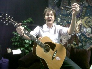 Macca's message from Moscow, December 14, 2011  http://rutube.ru/tracks/5110704.html