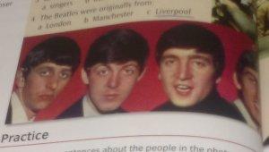 Учебник английского Cutting Edge Elementary:The Beatles were originally from: a)London b)Manchester c)Liverpool