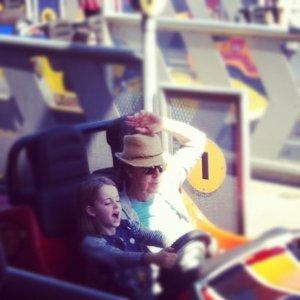 Paul McCartney & Beatrice at Disney...
