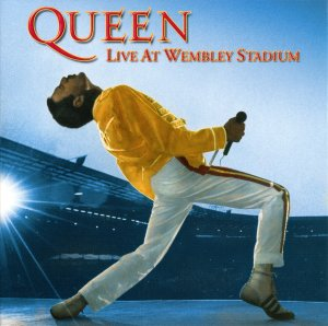 2 Dr.Watson: Queen - Live At Wembley Stadium (2003) - front