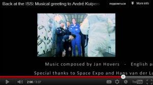 Скромность у голландского композитора действительно космических масштабов.