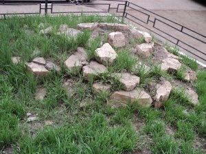 Это филиал древнеримских развалин, которых не видно, потому что они практически сравнялись с землей.