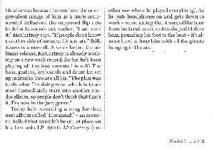 Из интервью Маккартни (само интервью о другом)
