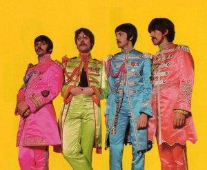 Фото-дневник создания обложки диска Sgt.Pepper's Lonely Hearts Club Band