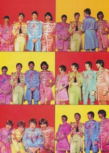 Фото-дневник создания обложки диска Sgt.Pepper's Lonely Hearts Club Band
