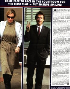 Paul and Heather Mills news