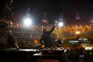 Пол Маккартни выступил на Открытии Олимпиады в Лондоне