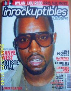 ж. Les Inrockuptibles, #680, 9 decembre 2008: ст. Le feu sacre, стр. 60-61