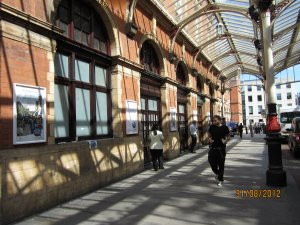 А вот вокзал Marylebone Station, засветившийся в первых сценах фильма A Hard Day's Night!