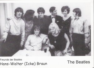Это фото Ганса Брауна (по прозвищу Айк) с Битлз во время Блиц-Браво-Турне