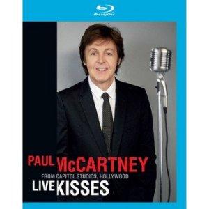 Концертная программа Live Kisses Пола Маккартни выйдет на DVD и Blu-ray. Официального подтверждения этой информации пока нет, но на  Amazon  уже представлены соответствующие релизы. Телевизионная премьера музыкального шоу состоится на PBS в начале сентября, а спустя два месяца поклонники битла смогут приобрести запись концерта на дисках.
