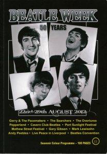 По просьбе Александра abt52 выкладываю обложку буклета Beatle Week 2012.