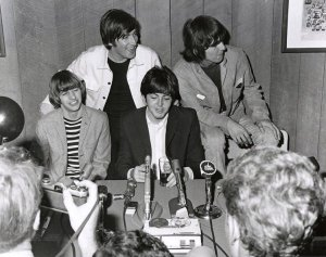 Q: I'd like to ask Mr. Lennon why he took up writing and who is his biggest influence in the writing field.