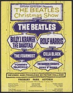 P.S. Афиша The Beatles' Christmas Show