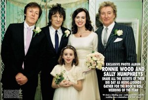 Гитарист The Rolling Stones Ronnie Wood тайно женился в третий раз