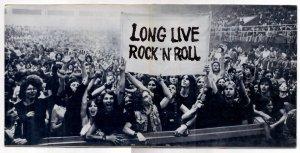 Нормательно...!  Long live rock and roll !