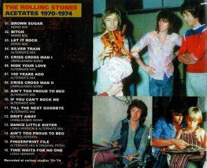 The Rolling Stones - Acetates(1970-1974)