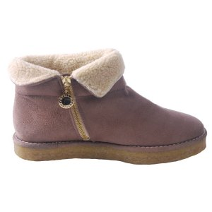 Stella McCartney Faux Sheep Skin Ankle Boot