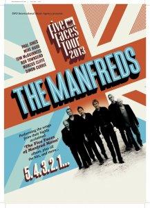 THE MANFREDS Five Faces Tour 2013
