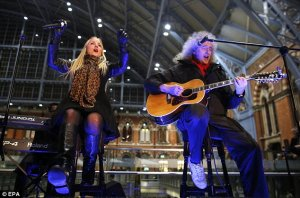 They Will Rock You! Former The Voice star Kerry Ellis and Brian May kick off outdoor charity gig