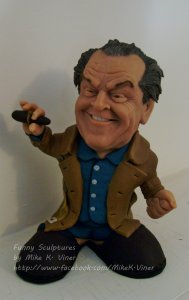 Funny Caricature Sculptures by Mike K. Viner