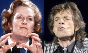 Mick Jagger's admiration for Margaret Thatcher