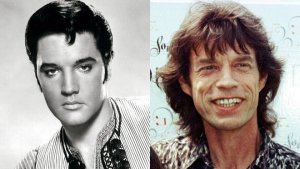 Rolling Stones front man Mick Jagger and his production company Jagged Films are looking to team up with 20th Century Fox to produce a biopic of Elvis Presley, sources tell FOX411's Pop Tarts column
