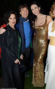 The Jagger reunion! Mick's women past and present join his daughters at Serpentine Summer Party