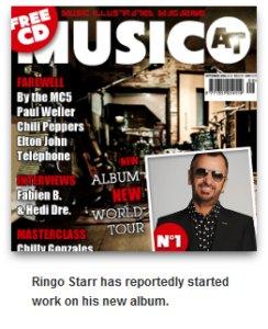 Ringo Starr, new Studio Album and Tour in 2014?