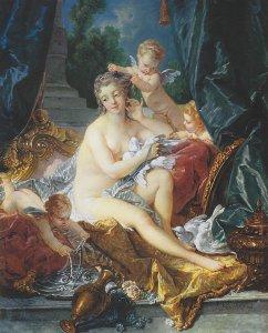 Франсуа Буше  Туалет Венеры  просто полный пипец а не картина