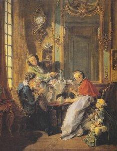 Франсуа Буше  Завтрак  Офигенная картина просто супер пупер.