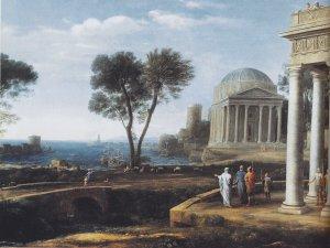 Клод Лоррен  Пейзаж с Энеем в Делосе