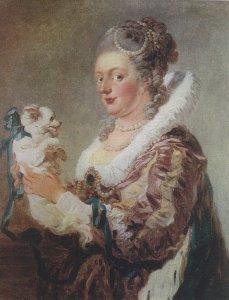 Жан Оноре Фрагонар  Дама с собачкой просто супер я бы с ней познакомился бы даже))))))))