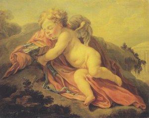 Франсуа Лемуан (просто гений и еще раз гений) Спящий Амур  Просто божественно и нету слов