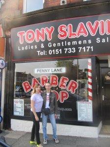 Та самая парикмахерская на Пенни Лэйн