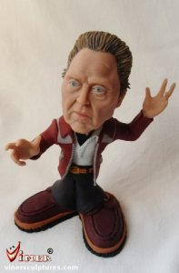 Caricature sculptures by Mike K. Viner