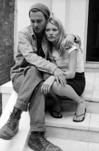 Джонни Депп и Кейт Мосс.