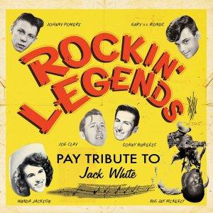 19 ноября выйдет трибьют Джеку Уайту от ветеранов 60-70х Rockin' Legends Pay Tribute to Jack White: