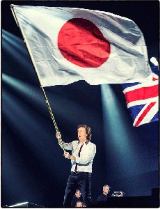 Маккартни выступил спонсором японской команды борцов сумо