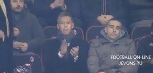 Кейсуке Хонда уже в Италии. 06.01.14 на матче Милан-Аталанта.