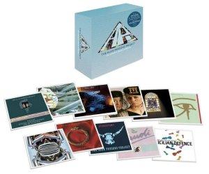 31 марта 2014 box от Alan Parsons Project 11 cd. Интересен тем что присутствует ранее неизданный альбом The Sicilian Defence !