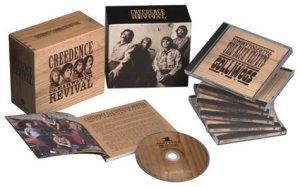 Криденс одна из моих самых любимых рок-групп, слушаю их с лета 96 года. Есть все альбомы, концертники, и Джон Фогерти сольно. И так же купил в 2010 году вот такую коробку группы.