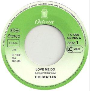 Давайте порассуждаем? Сингл Love me do / P. S. I love you