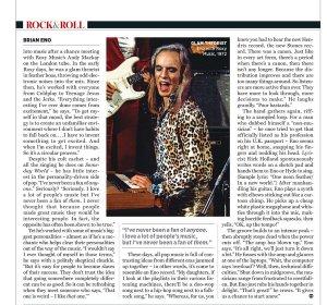 Brian Eno / Брайан Ино