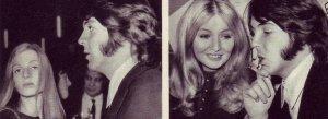 * Там же - Пол с Линдой, Пол с Мэри.