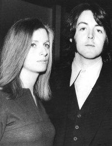 * Пол и Линда в ресторане башни GPO.