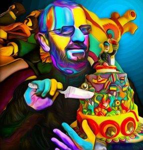 74th birthday of Ringo Starr. Happy birthday dear Ringo