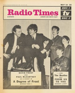 The Beatles on the cover of Radio Times (1964)