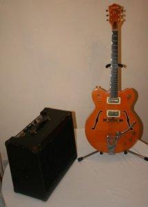 до этого, в 1963, Джон подарил ему же свой усилитель Fender Vibroluxe.