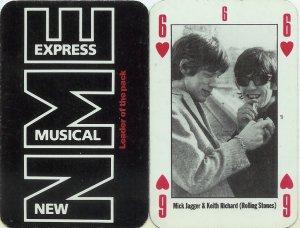 Такая вот забавная игральная карта (кстати, червовая шестёрка)))...Помню, я Брайана из похожей колоды выкладывал у нас...